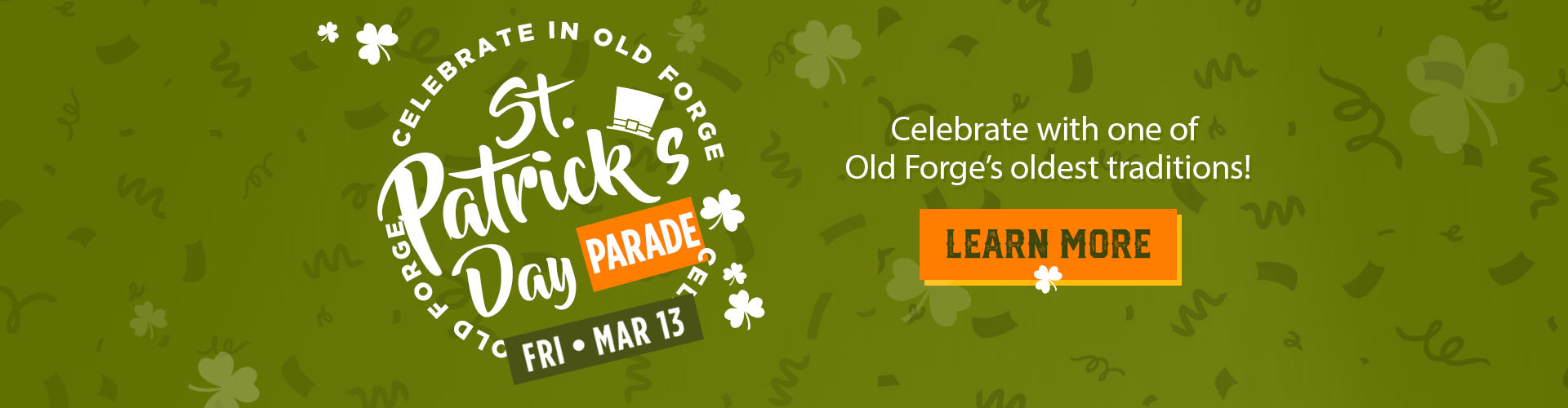 St Patty's Day Parade in Old Forge